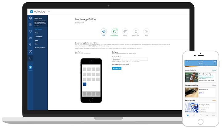 eDirectory Mobile Application Builder