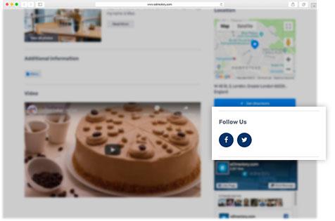 eDirectory Advanced Social Media Plugins