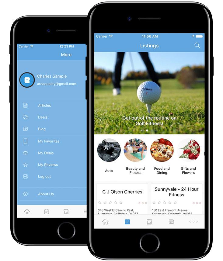 eDirectory Mobile App Builder for iOS