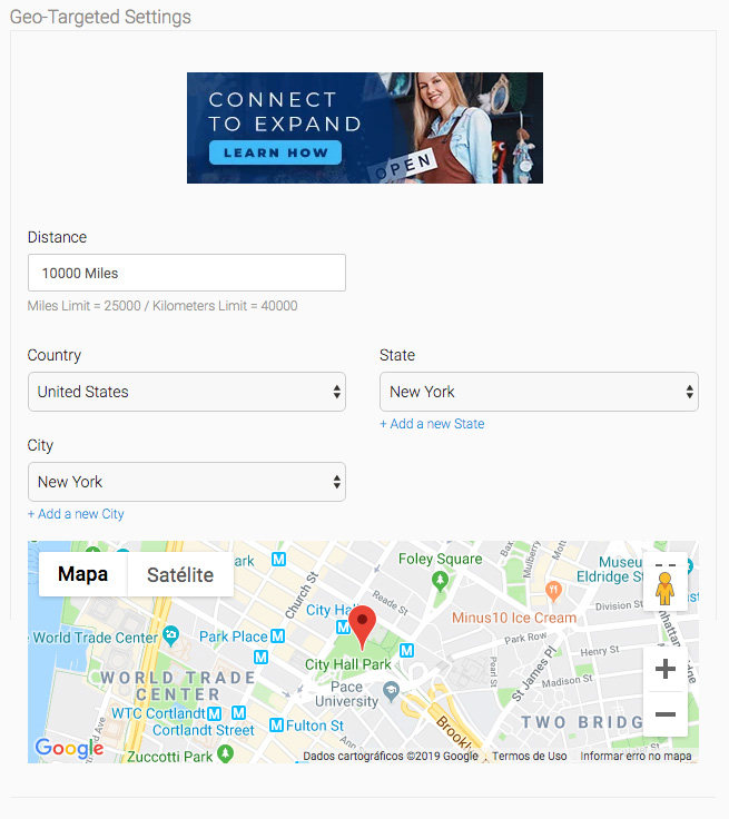 eDirectory Geo-Targeted Banner Ads