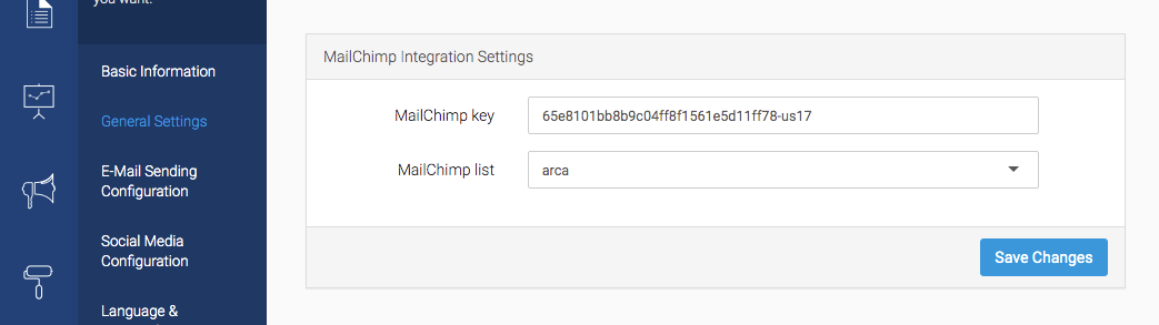 eDirectory MailChimp Integration