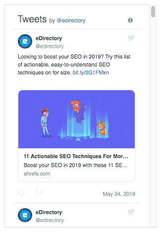 eDirectory Advanced Social Media Plugins