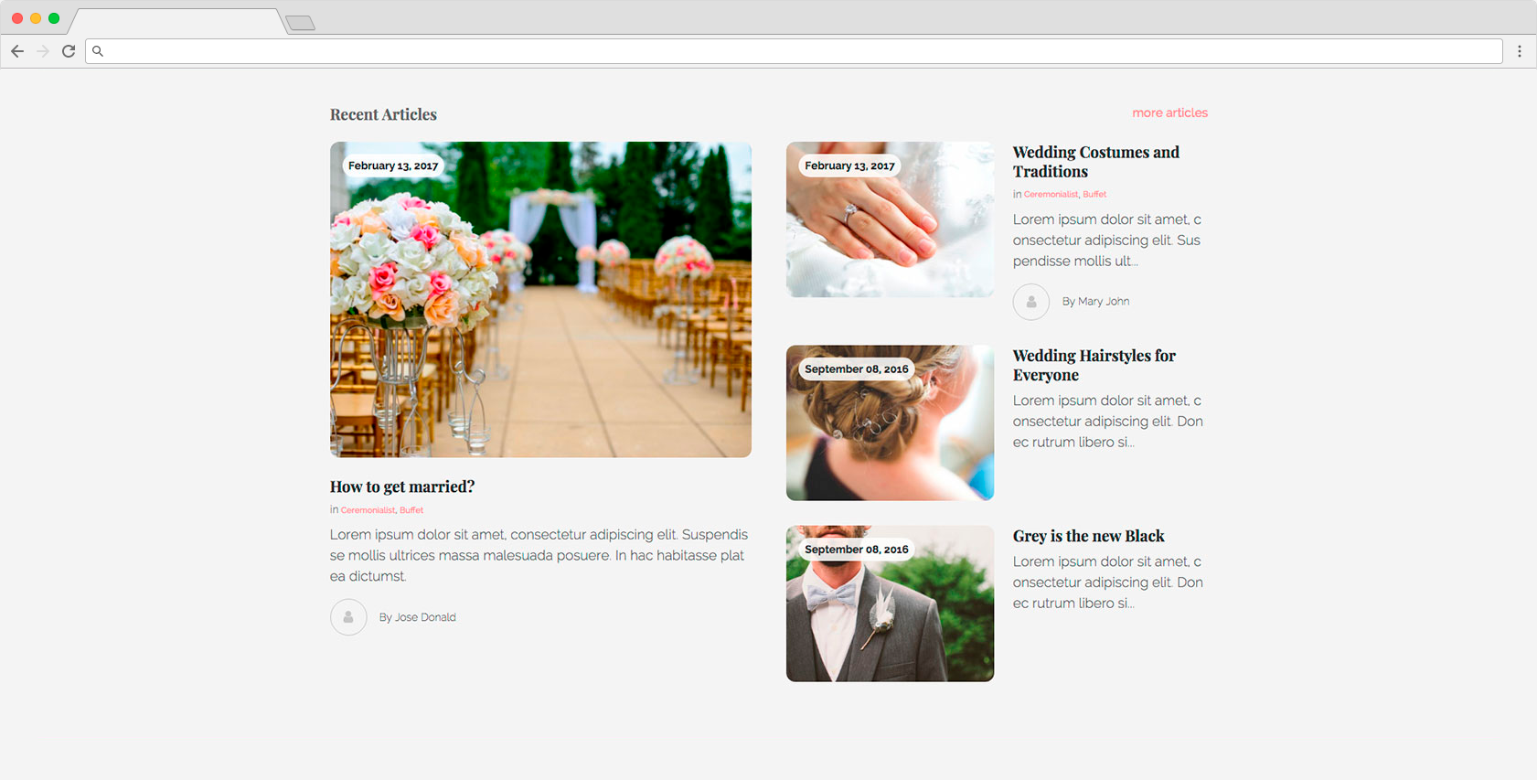 edirectory wedding guide theme