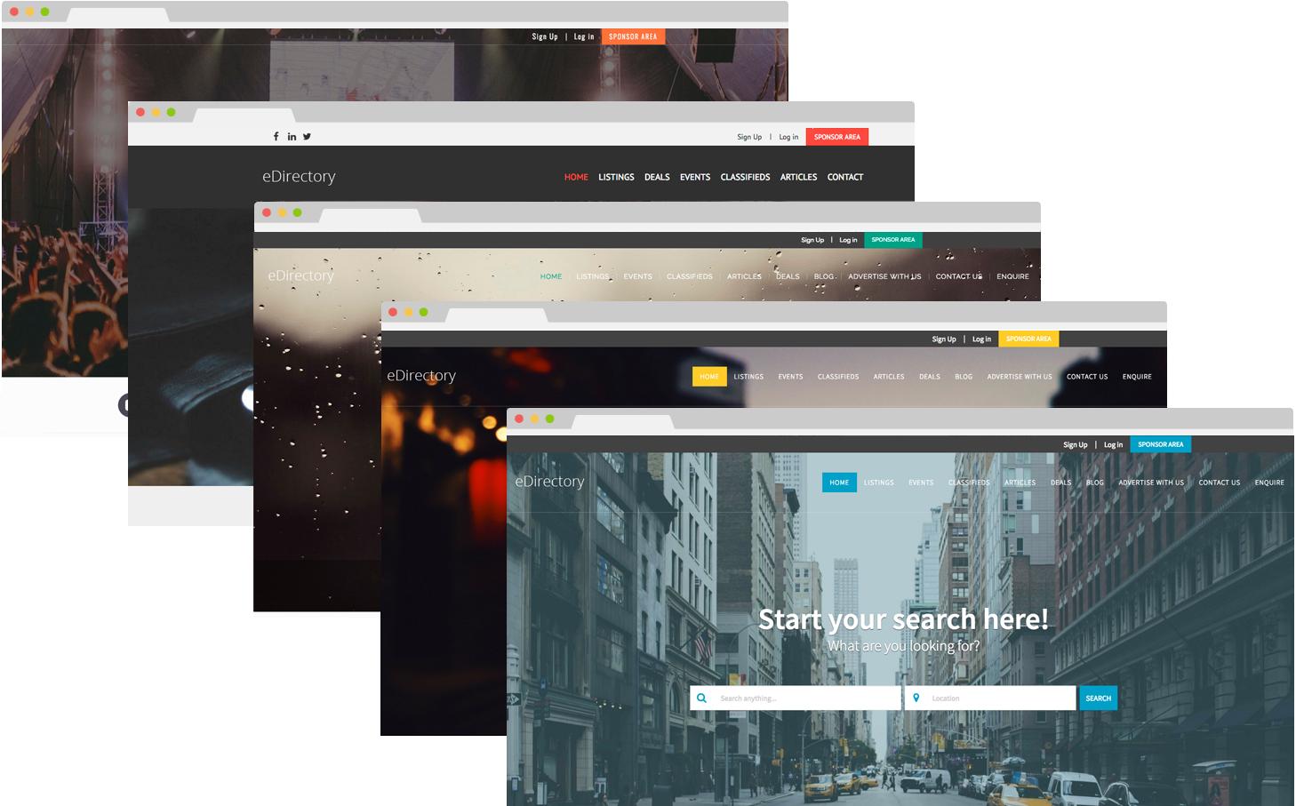 eDirectory Design Templates