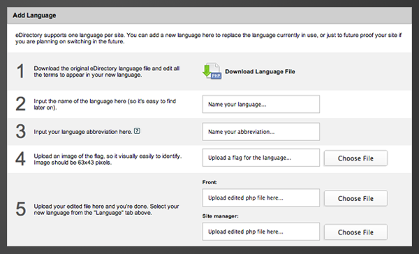 Adding a language to eDirectory
