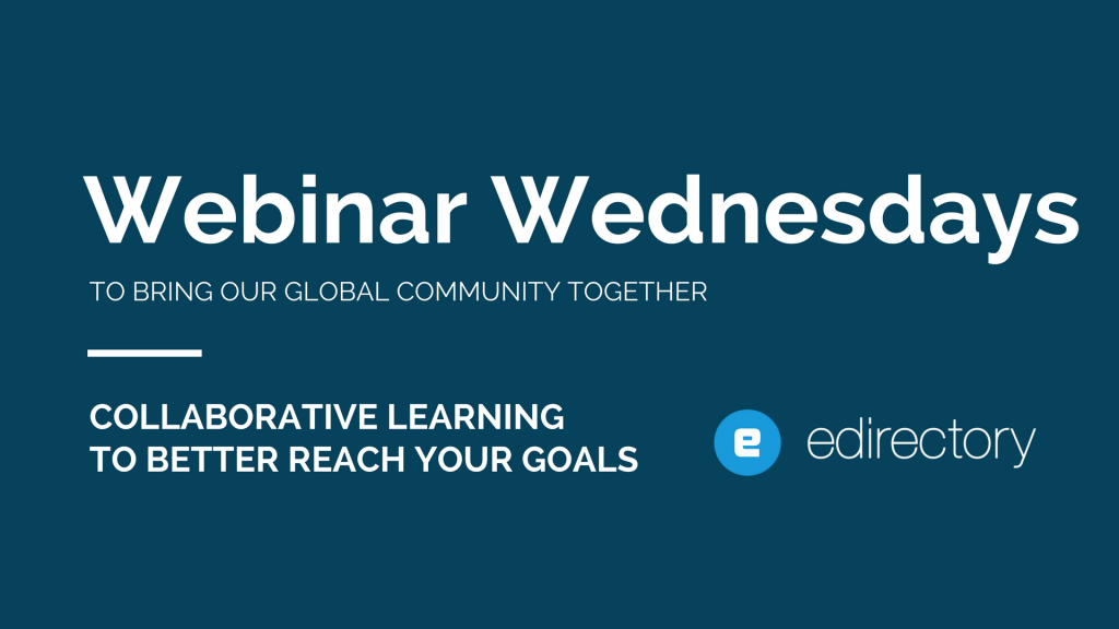webinar wednesdays