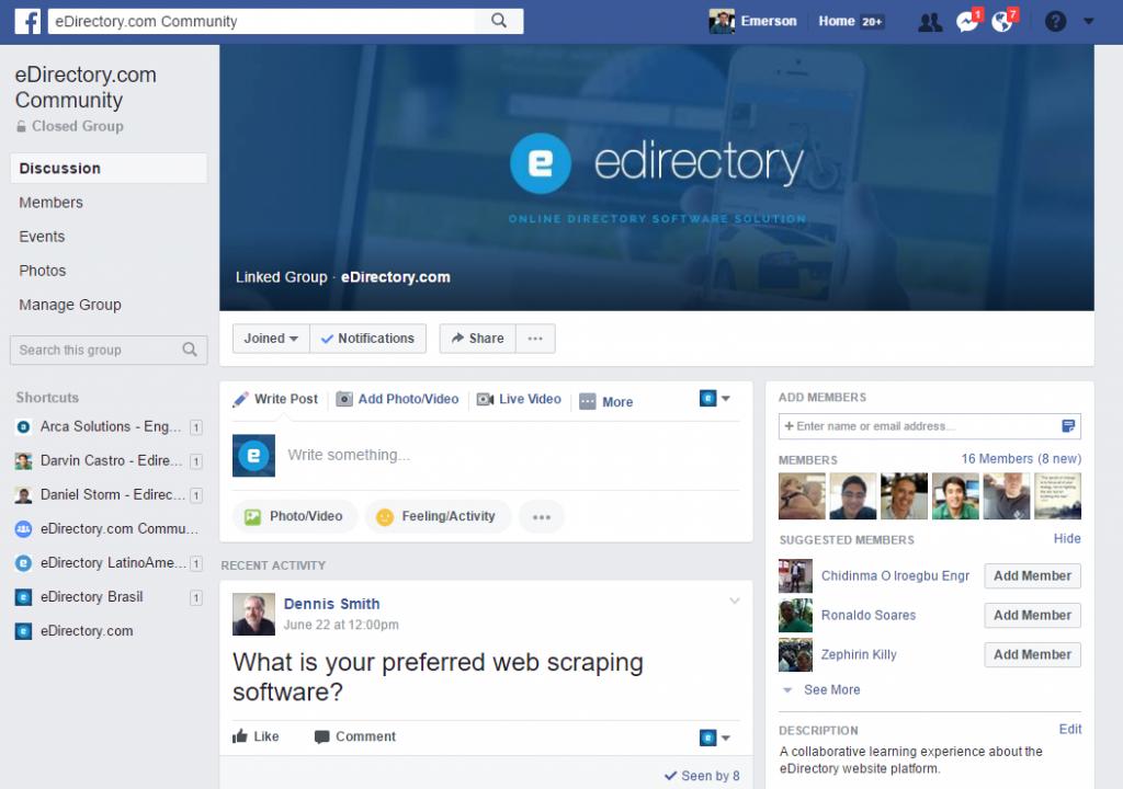eDirectory.com Communities