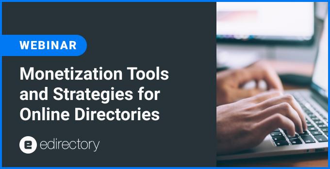 Monetization Tools for Online Directories